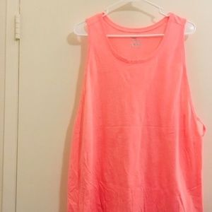 Old Navy Salmon pink tank top Sz 2x